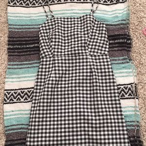 Checkered dress from Tillys size M